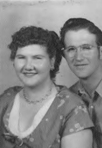 Doris Mae and Jasper Allen Griffin.  My Aunt and Uncle